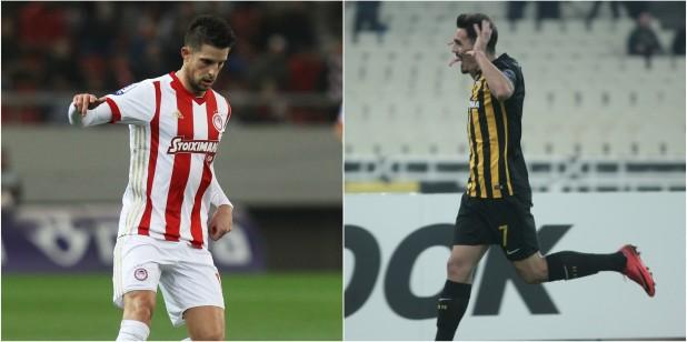 Ολυμπιακός - ΑΕΚ: Και τώρα οι δυο τους με αμέτρητα ειδικά από το Stoiximan.gr
